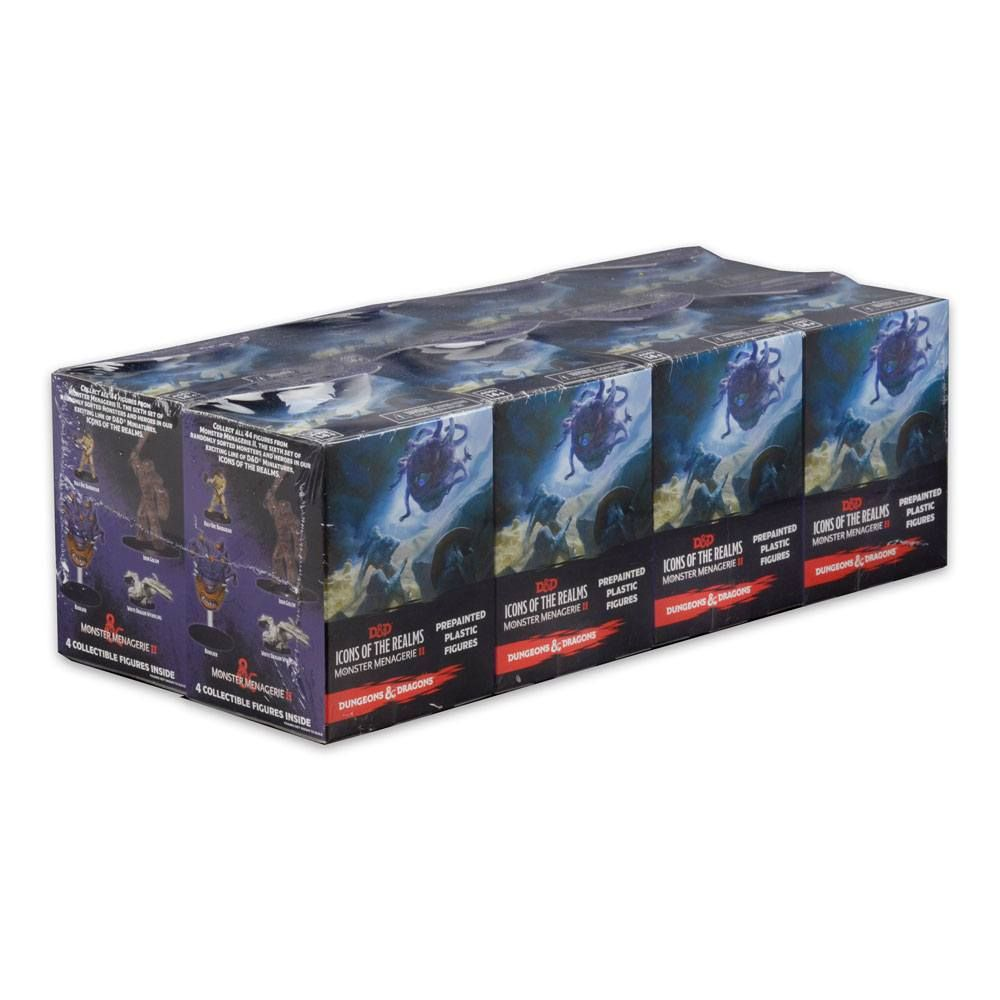 D&D Icons of the Realms: Monster Menagerie 2 Booster Brick (8) Wizkids