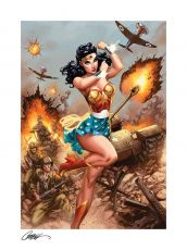 DC Comics Fine Art Print Wonder Woman #750: WWII 46 x 61 cm - unframed