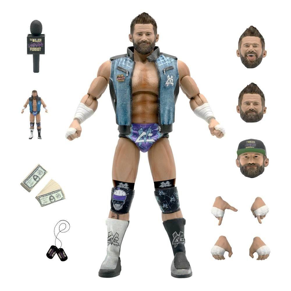 Major Wrestling Podcast Ultimates Akční Figure Wave 1 Matt Cardona 18 cm Super7