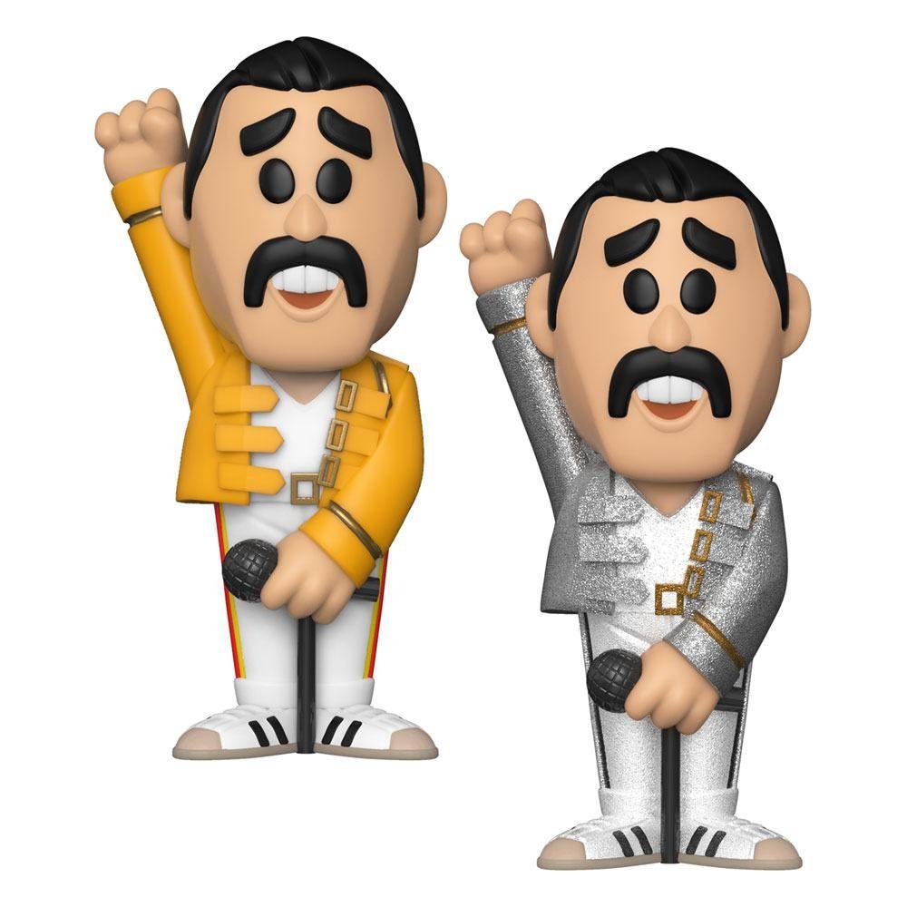 Queen vinylová SODA figurka Freddie Mercury 11 cm Funko