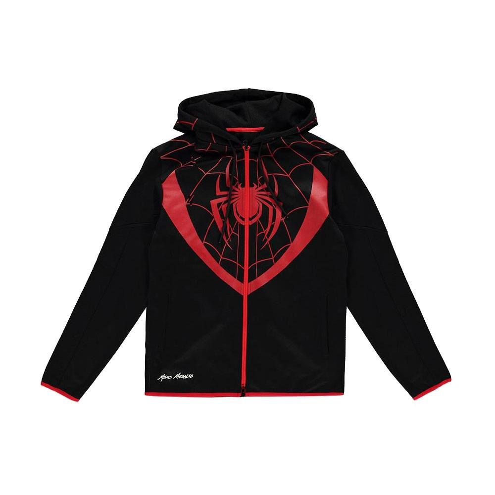 Spider-Man Hooded Mikina Miles Morales Velikost XL Difuzed