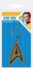 Star Trek Gumový Přívěsky na klíče Insignia 6 cm Case (10)