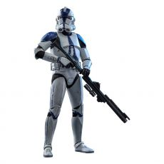 Star Wars The Clone Wars Akční Figure 1/6 501st Battalion Clone Trooper 30 cm