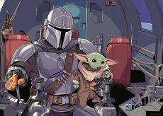 Star Wars The Mandalorian Jigsaw Puzzle Cartoon (1000 pieces)