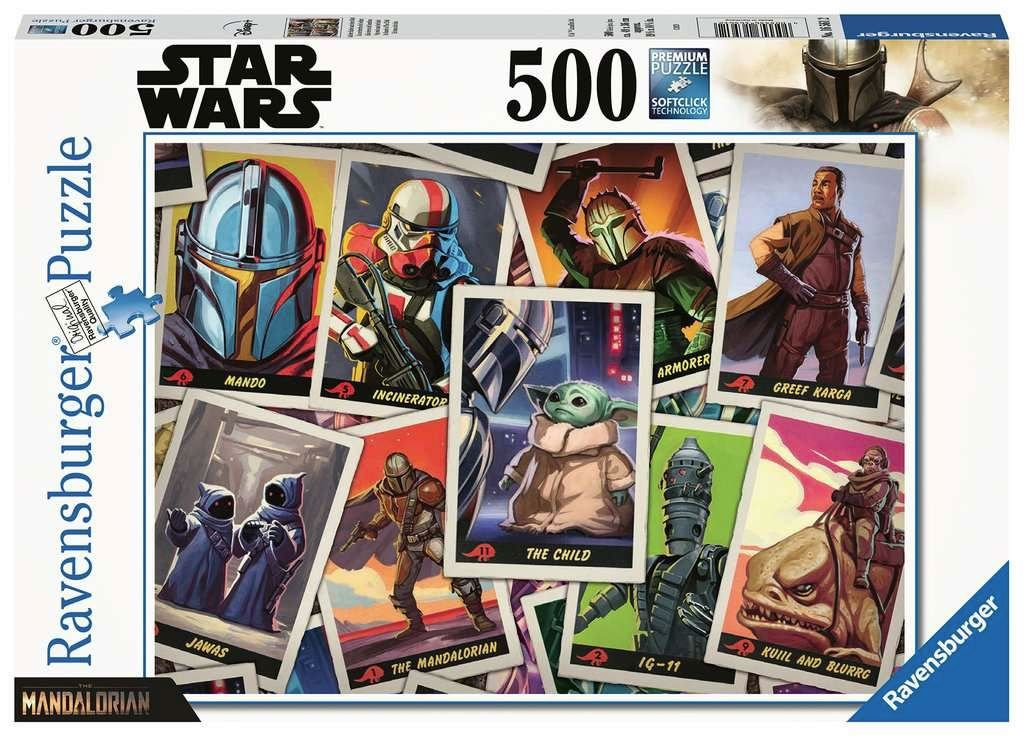 Star Wars The Mandalorian Jigsaw Puzzle The Child (500 pieces) Ravensburger
