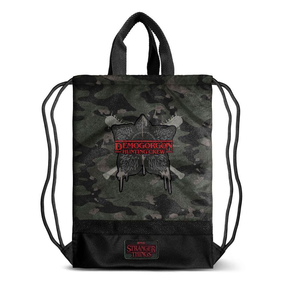 Stranger Things Gym Bag Hunting Karactermania