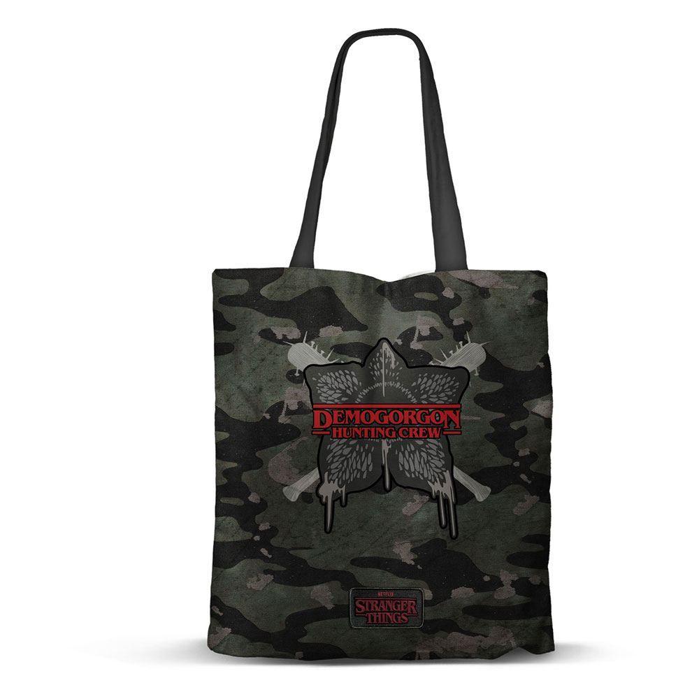 Stranger Things Tote Bag Hunting Karactermania