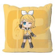 Vocaloid Polštář Case Kagamine Rin 50 x 50 cm