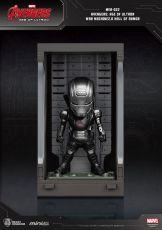 Avengers Age of Ultron Mini Egg Attack Akční Figure Hall of Armor War Machine 2.0 8 cm