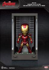Avengers Age of Ultron Mini Egg Attack Akční Figure Hall of Armor Iron Man Mark XLIII 8 cm