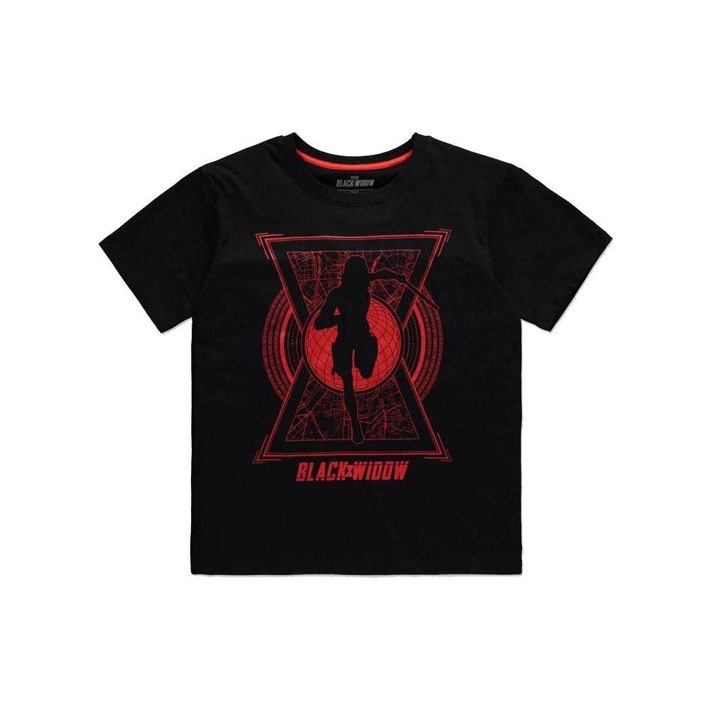 Black Widow Dámské Tričko World Saviour Velikost L Difuzed