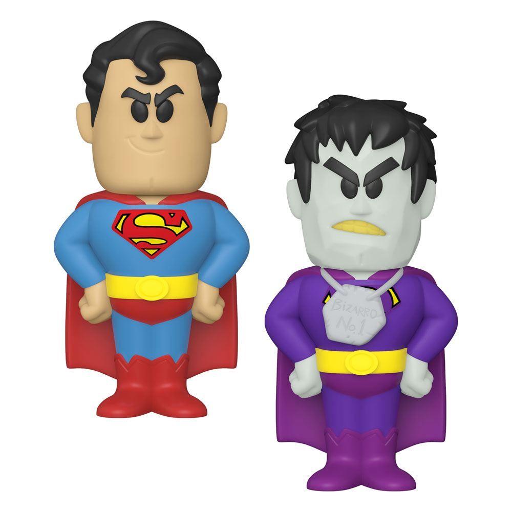DC Comics vinylová SODA Figures Superman 11 cm Sada (6) Funko