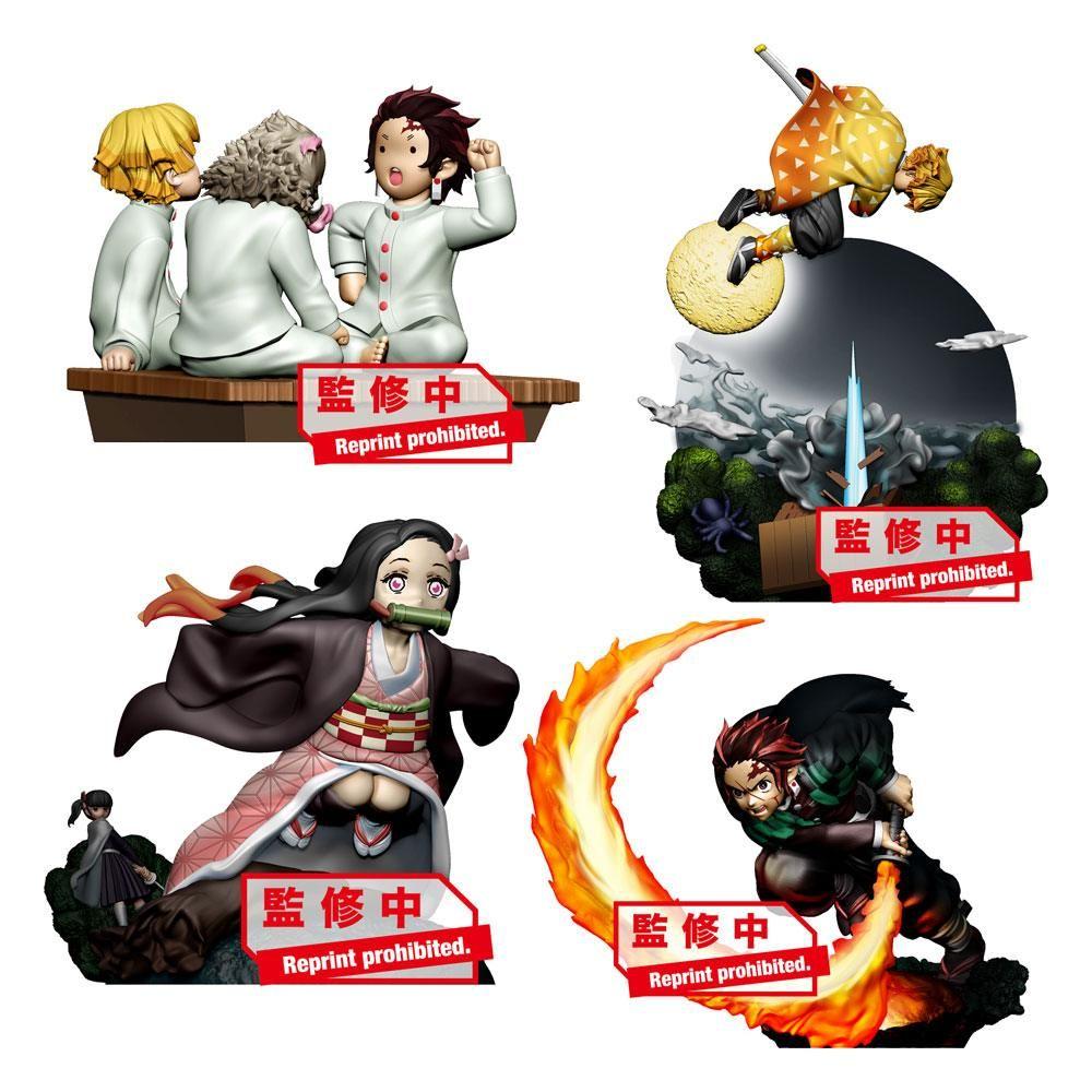 Demon Slayer: Kimetsu no Yaiba Petitrama Series Trading Figure 8 cm Vol. 1 Sada (4) Megahouse