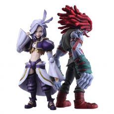 Final Fantasy IX Bring Arts Akční Figures Kuja & Amarant Coral 16 - 18 cm