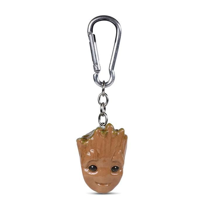 Guardians of the Galaxy 3D-Keychains Baby Groot 4 cm Case (10) Pyramid International