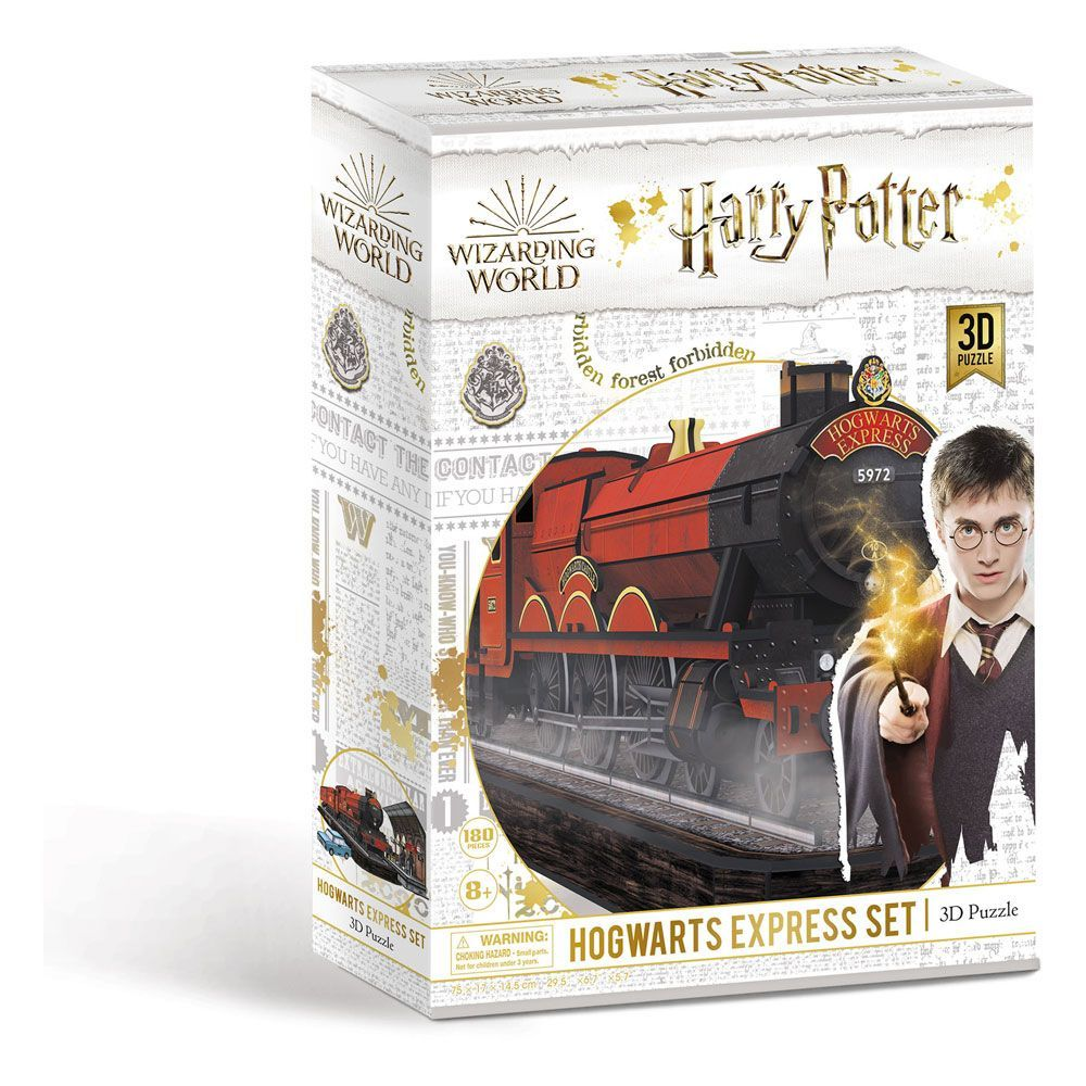 Harry Potter 3D Puzzle Bradavice Express Set (180 pieces) CubicFun