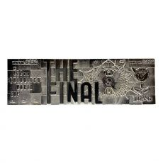 Harry Potter Replika Quidditch World Cup Ticket Limited Edition (silver plated)