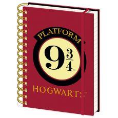Harry Potter Wiro Poznámkový Blok A5 Platform 9 3/4 Case (10)