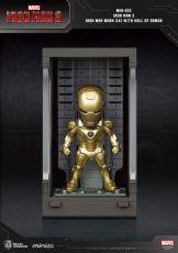 Iron Man 3 Mini Egg Attack Akční Figure Hall of Armor Iron Man Mark XXI 8 cm