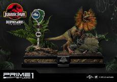 Jurassic Park Soška 1/6 Dilophosaurus Bonus Verze 41 cm
