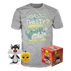 Looney Tunes POP! & Tee Box Sylvester & Tweety Velikost XL