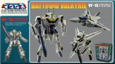 Macross Retro Transformable Kolekce Akční Figure 1/100 VF-1J Focker Valkyrie 13 cm