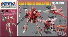 Macross Retro Transformable Kolekce Akční Figure 1/100 VF-1J Milia Valkyrie 13 cm
