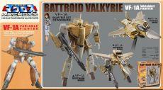 Macross Retro Transformable Kolekce Akční Figure 1/100 VF-1A Valkyrie 13 cm