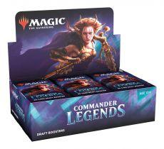 Magic the Gathering Commander Legends Draft Booster Display (24) Anglická