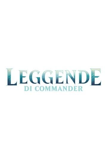 Magic the Gathering Leggende di Commander Commander Decks Display (6) italian Wizards of the Coast