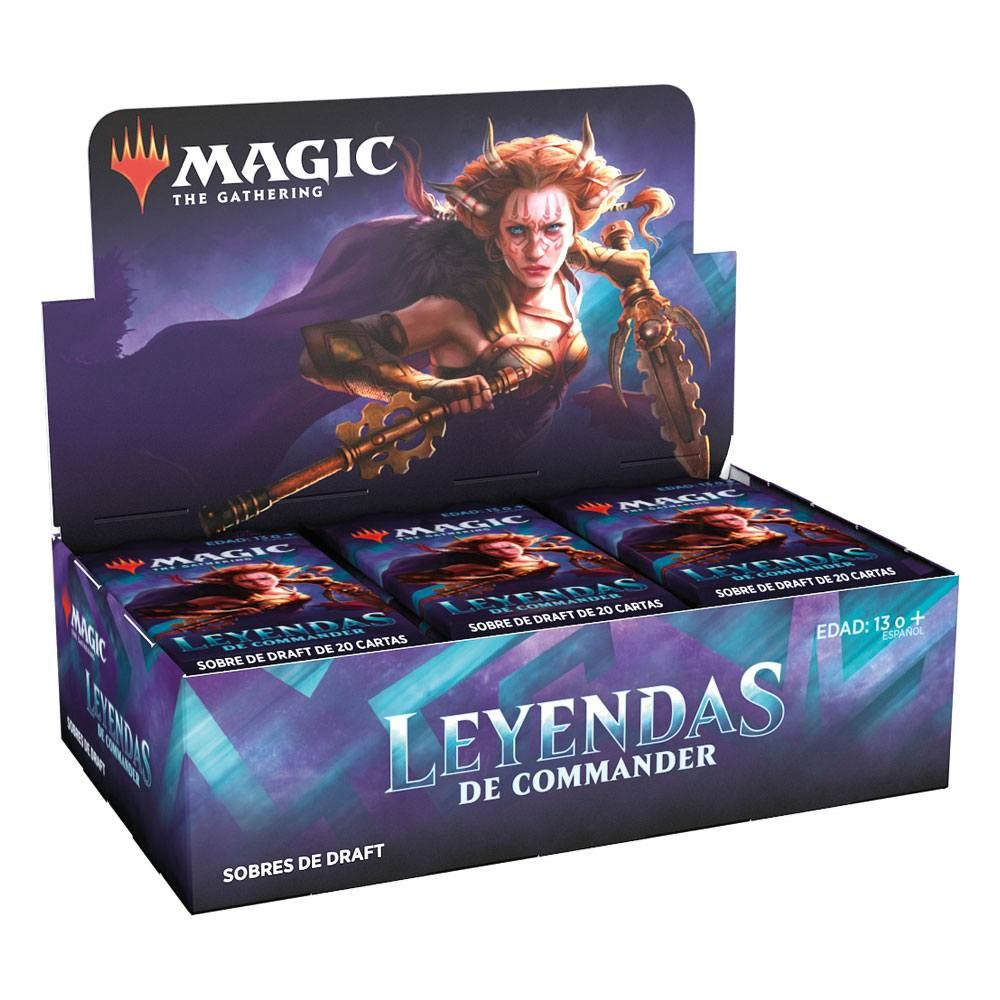 Magic the Gathering Leyendas de Commander Draft Booster Display (24) spanish Wizards of the Coast