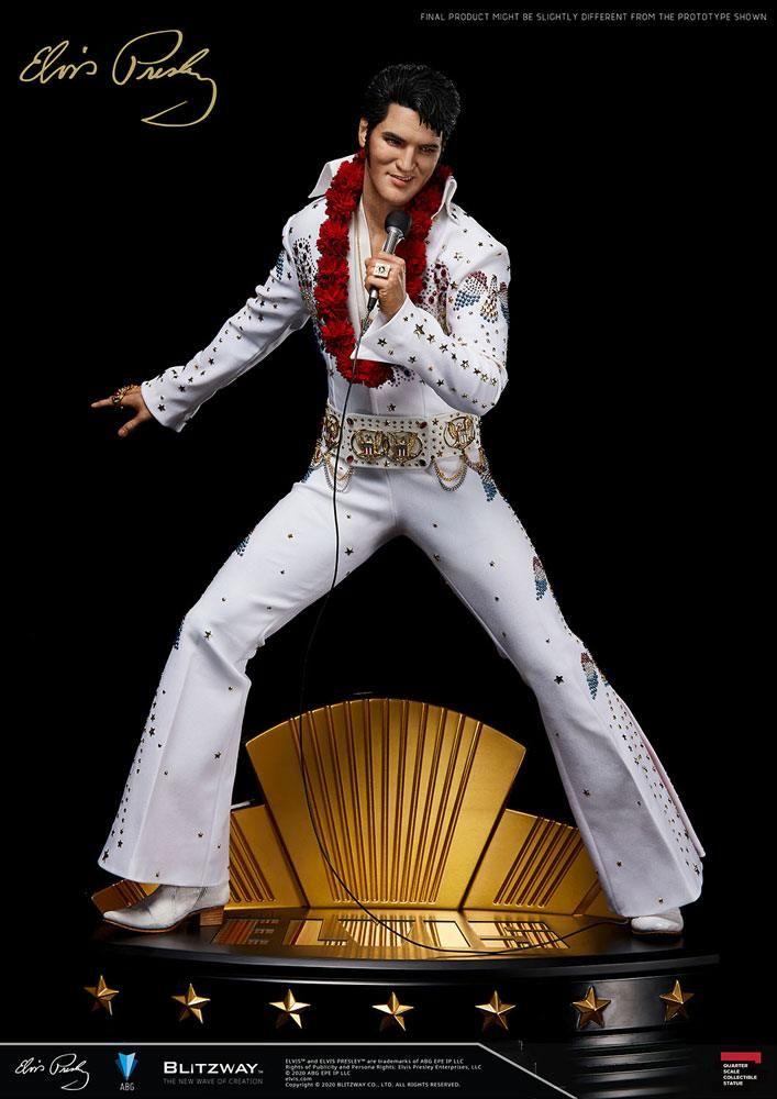 Elvis Presley Superb Scale Hybrid Soška 1/4 Elvis Aaron Presley 52 cm Blitzway