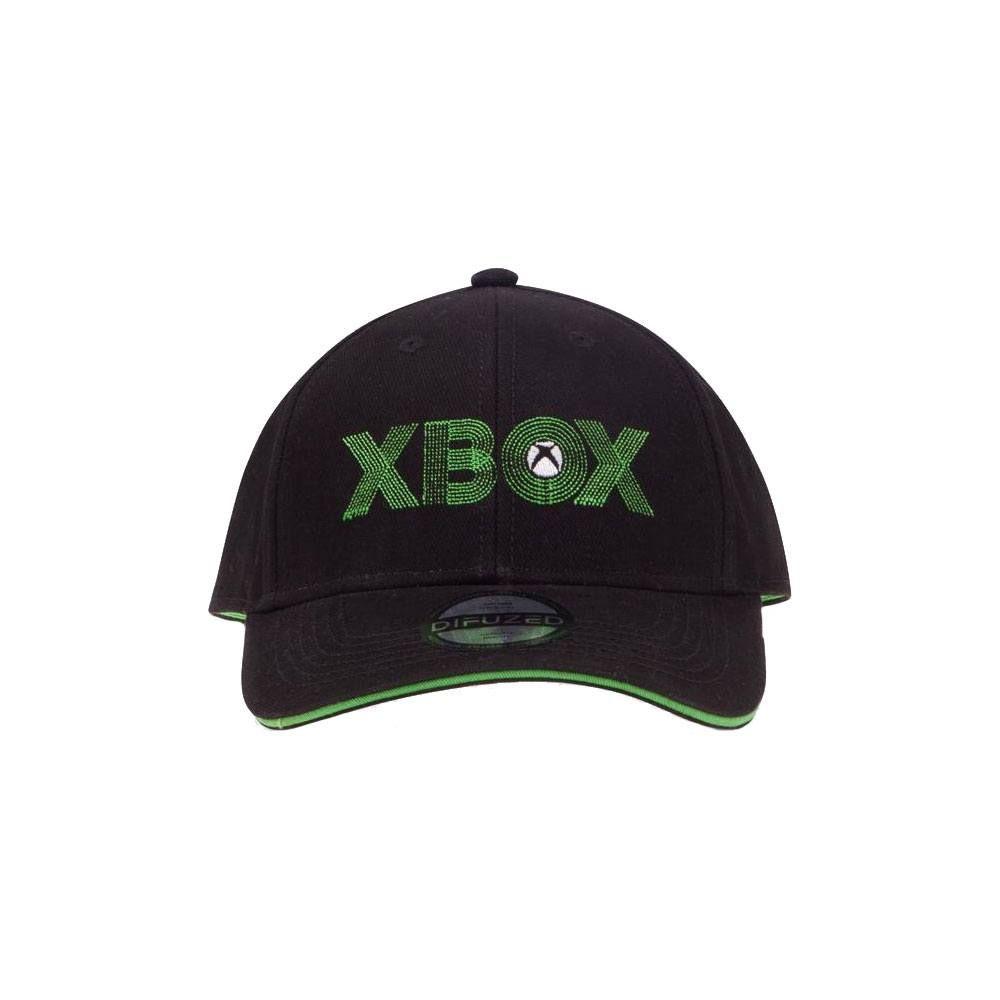 Microsoft Xbox Curved Bill Kšiltovka Letters Difuzed