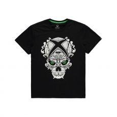 Microsoft Xbox Tričko Skull Velikost M