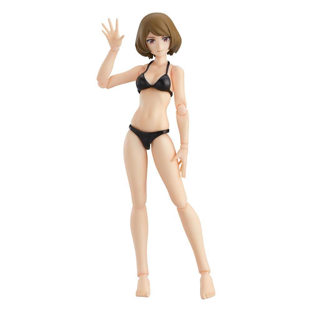 Original Character Figma Akční Figure Female Swimsuit Body (Chiaki) 13 cm Max Factory
