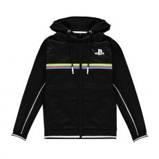 Sony PlayStation Hooded Mikina Color Stripe Velikost XL