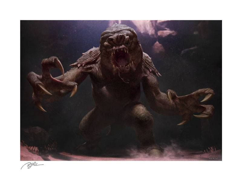 Star Wars Art Print The Rancor 61 x 46 cm - unframed Sideshow Collectibles
