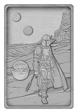 Star Wars: The Mandalorian Iconic Scene Kolekce Limited Edition Ingot The Mandalorian