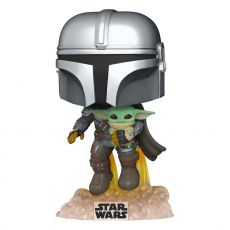 Star Wars The Mandalorian POP! TV vinylová Figure Mando Flying w/ Jet Pack 9 cm