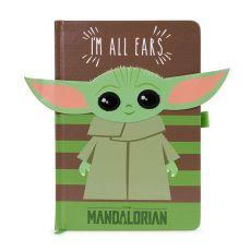 Star Wars The Mandalorian Premium Poznámkový Blok A5 I'm All Ears Green