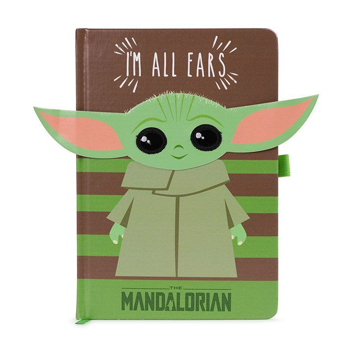 Star Wars The Mandalorian Premium Poznámkový Blok A5 I'm All Ears Green Pyramid International