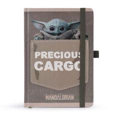 Star Wars The Mandalorian Premium Poznámkový Blok A5 Precious Cargo
