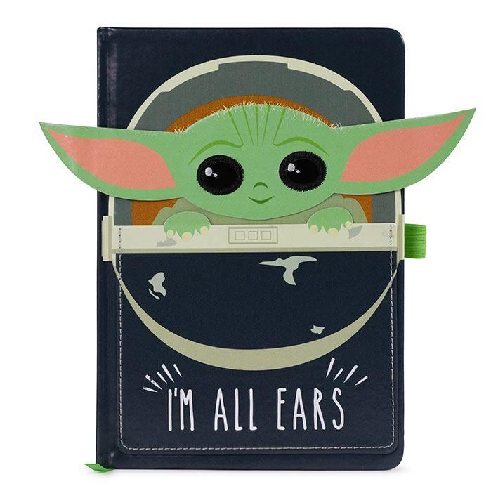 Star Wars The Mandalorian Premium Poznámkový Blok A5 I'm All Ears Pyramid International