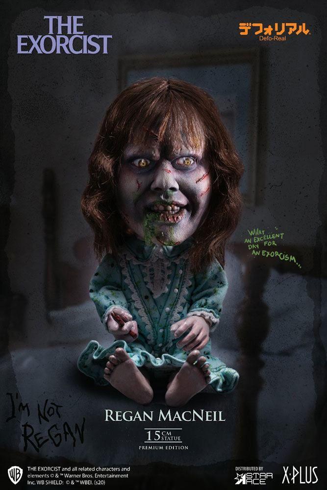 The Exorcist Defo-Real Series Soška Regan MacNeil 15 cm Star Ace Toys