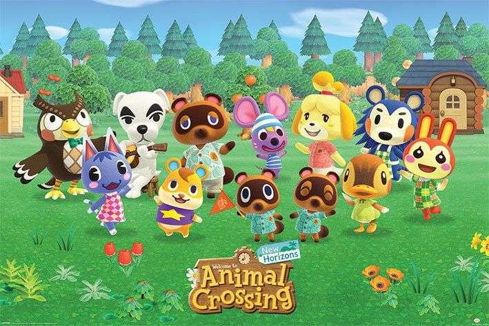 Animal Crossing Plakát Pack Lineup 61 x 91 cm (5) Pyramid International