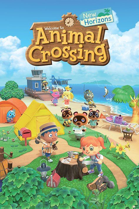 Animal Crossing Plakát Pack New Horizons 61 x 91 cm (5) Pyramid International