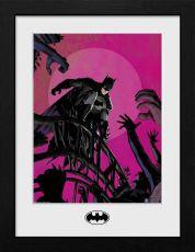 Batman Collector Print Zarámovaný Plakát Arkham