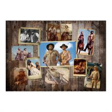 Bud Spencer & Terence Hill Jigsaw Puzzle Western Photo Nástěnná (1000 pieces)