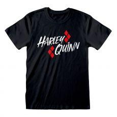 DC Batman Tričko Harley Quinn Bat Emblem Velikost L