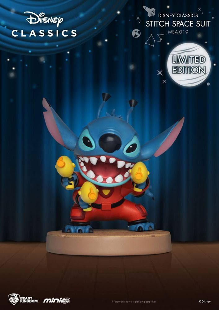 Disney Classic Series Mini Egg Attack Figure Stitch Space Suit 8 cm Beast Kingdom Toys